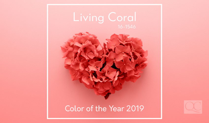 Pantone's 2019 color of the year living coral