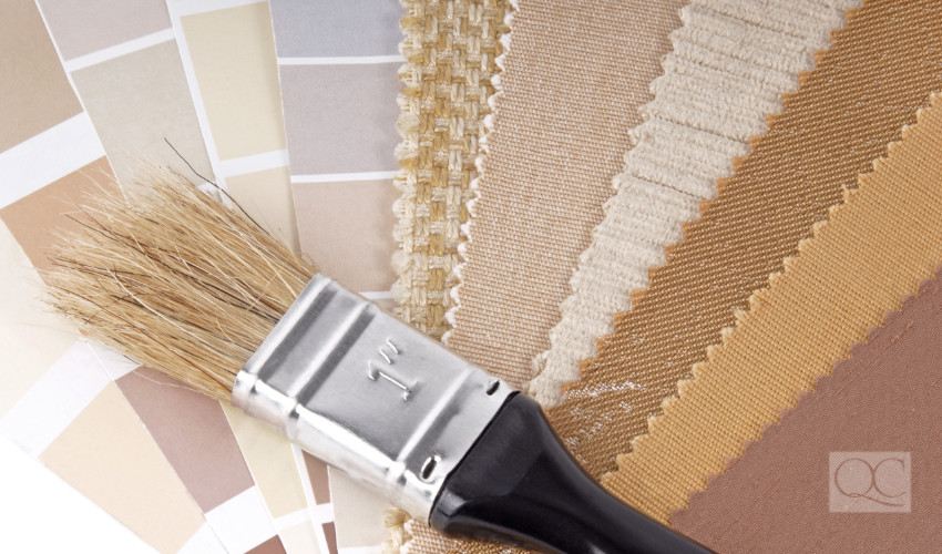 beige paint swatch and colors for interior decorating job