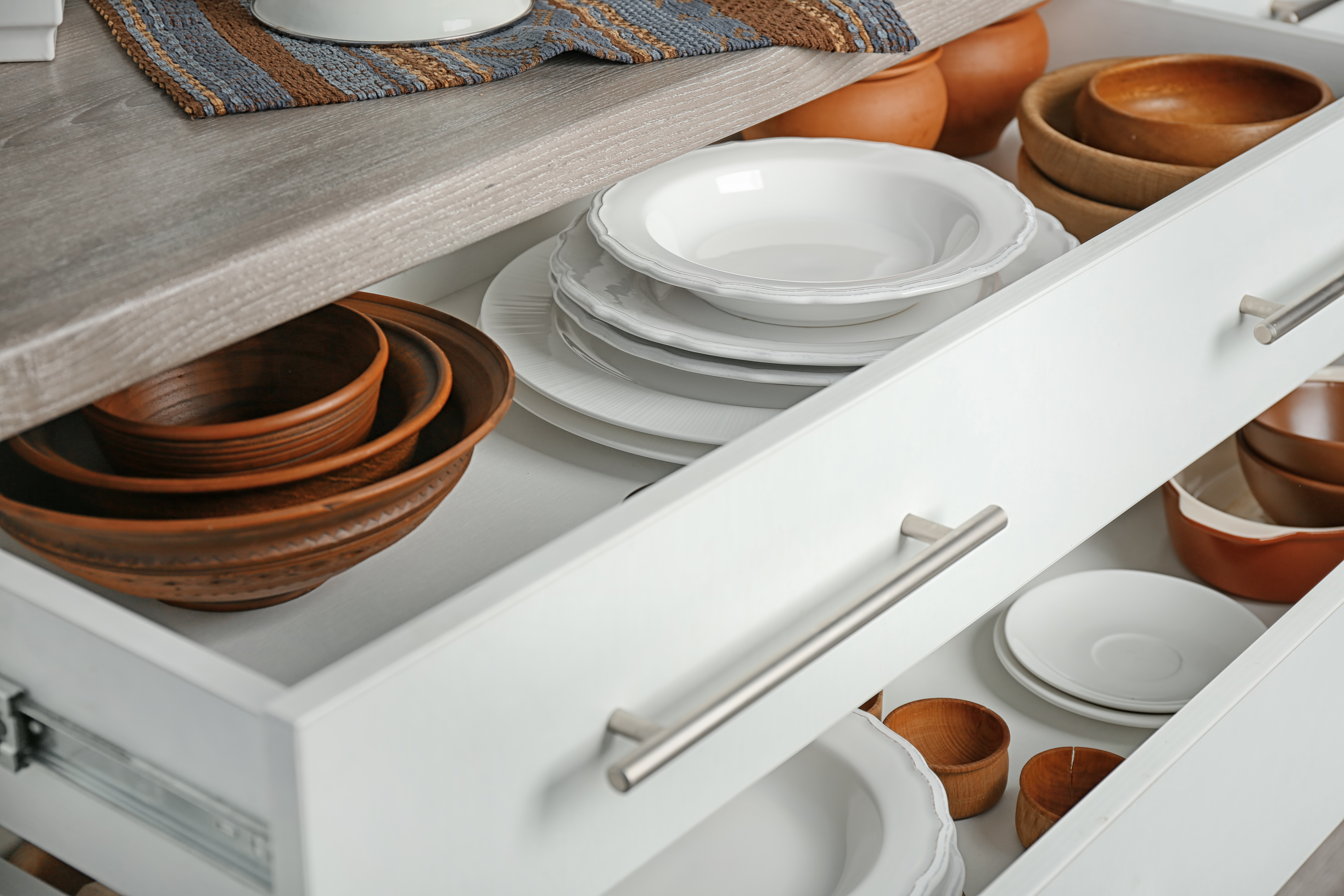 kitchen professional organizing storage solution example
