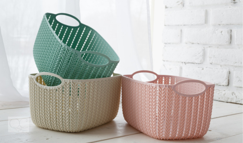 cute baskets for professional organizer jobs