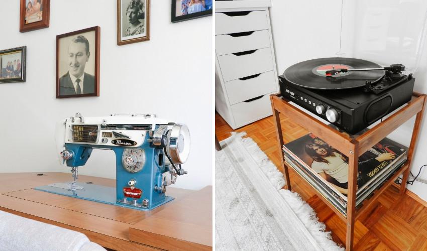 sewing room for Amanda Iacobellis's grandmother - Organized Home Decor Interior Decorating Business
