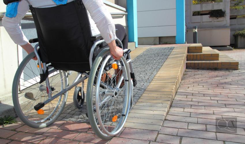 wheelchair accessible home design