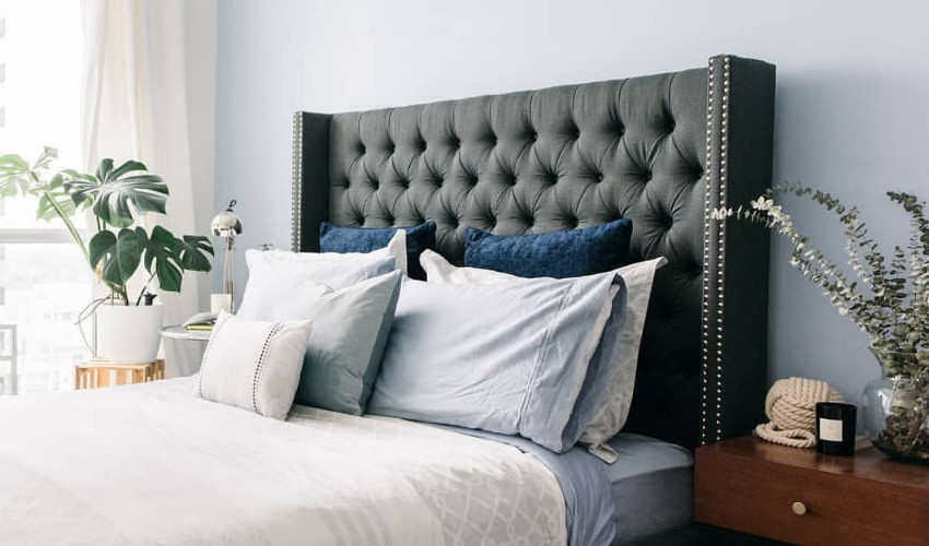 bedroom interior decorating jobs by Carly Heung of 1 Small Space