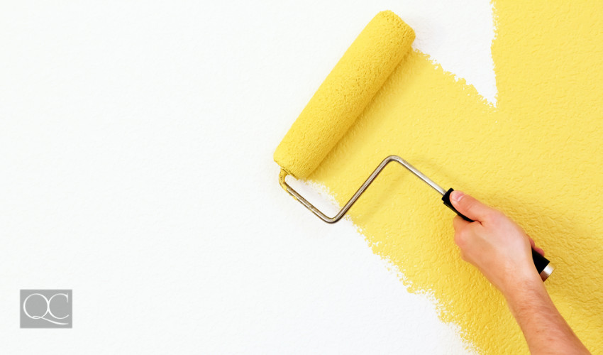 yellow paint color for blank wall paint