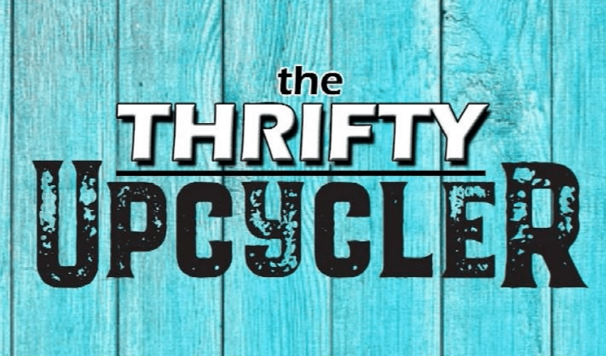 erin rochon business logo - the thrifty upcycler