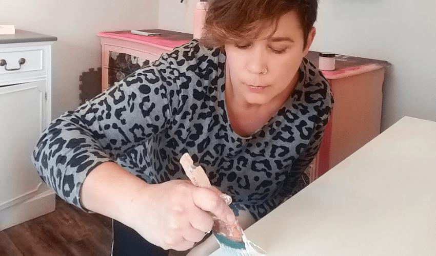 erin rochon - painting wood