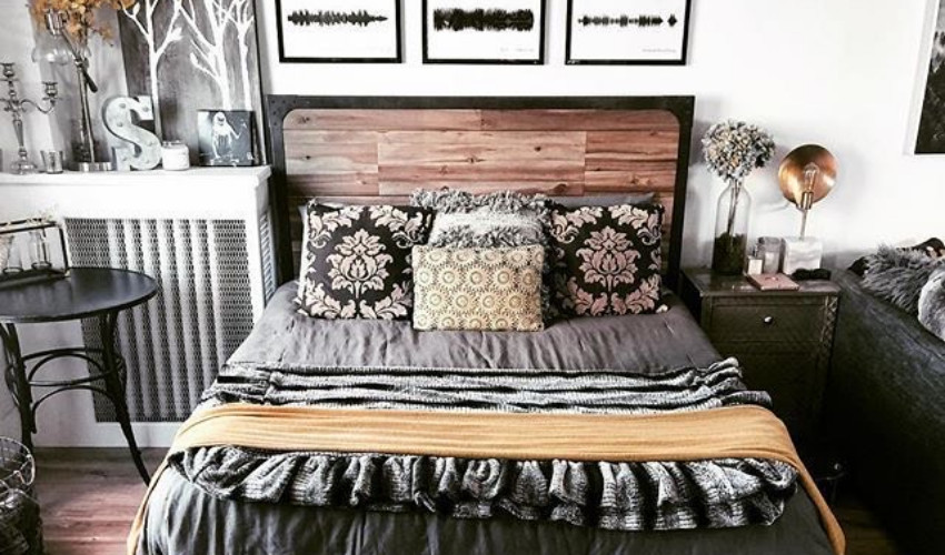 graduate feature: dawn marie clunas decorated room