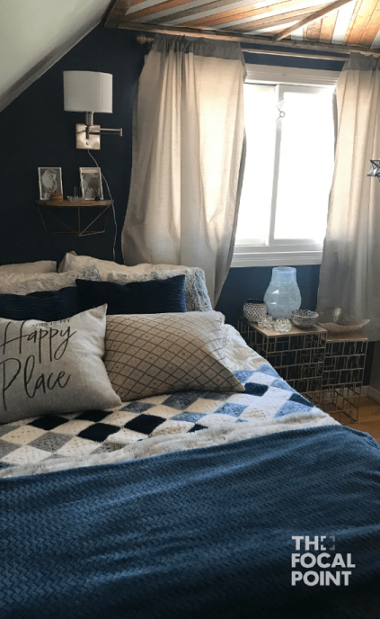 interior decoration of bedroom and bed