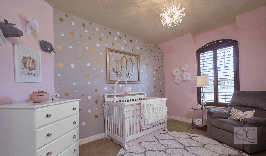 eagle mountain texas nursery interior decorating