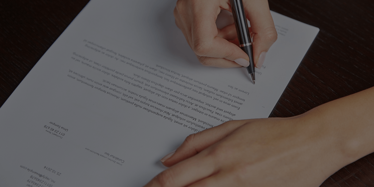 How to Write a Strong Design Contract