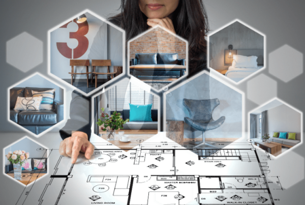 interior designer increasing salary by working online, offering virtual services