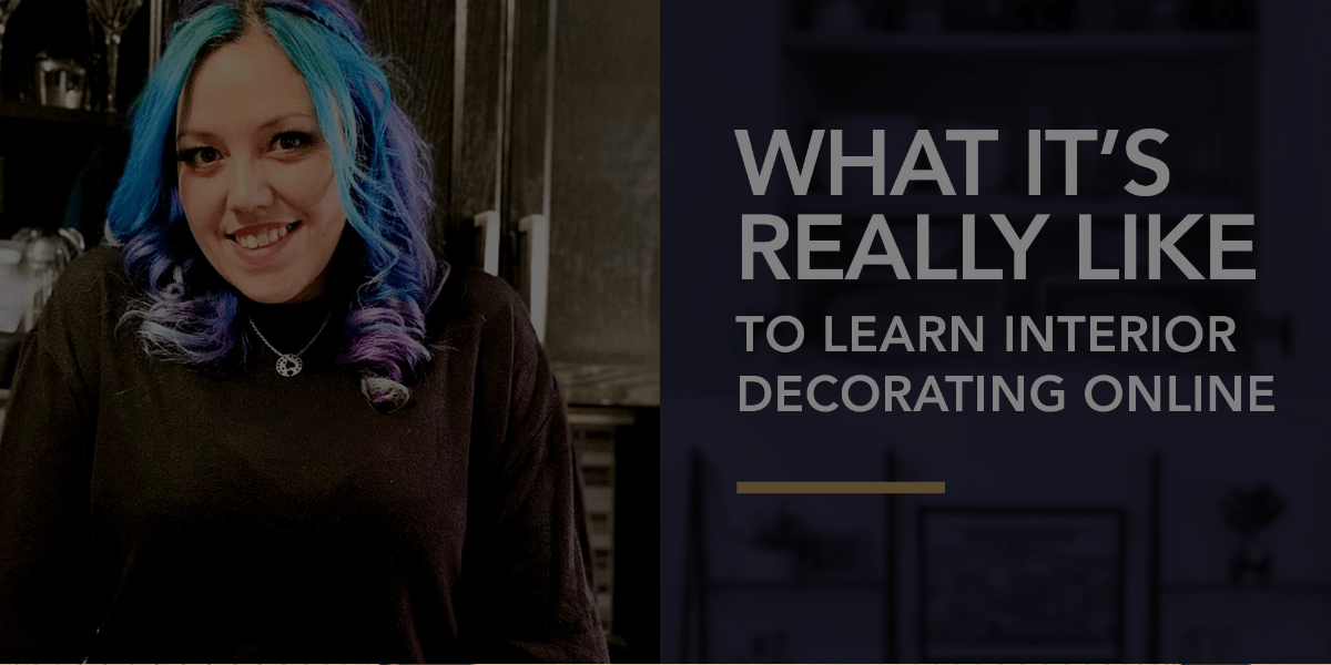 What it's REALLY Like to Learn Interior Decorating Online [video]