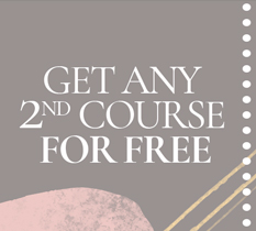 get any 2nd course free