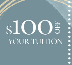 100 off your tuition