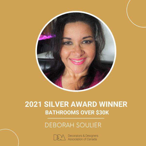 Interior decorator certification Graduate Feature, Deborah Soulier award winner