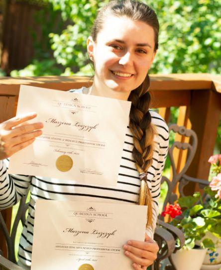 Home staging certification graduate feature, Marzena Leszczyk, Headshot