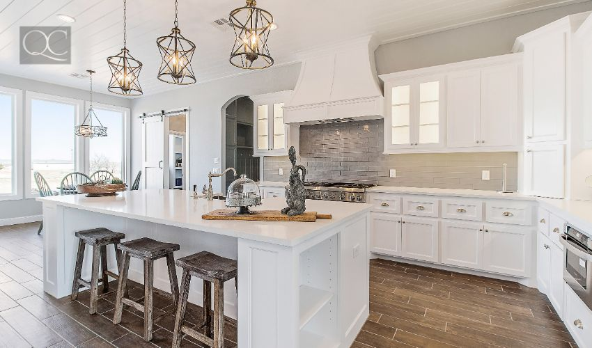 Modern New Kitchen Remodeled White