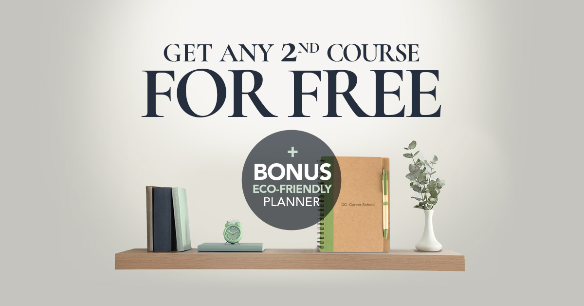 Free Second Course Promotion Graphic